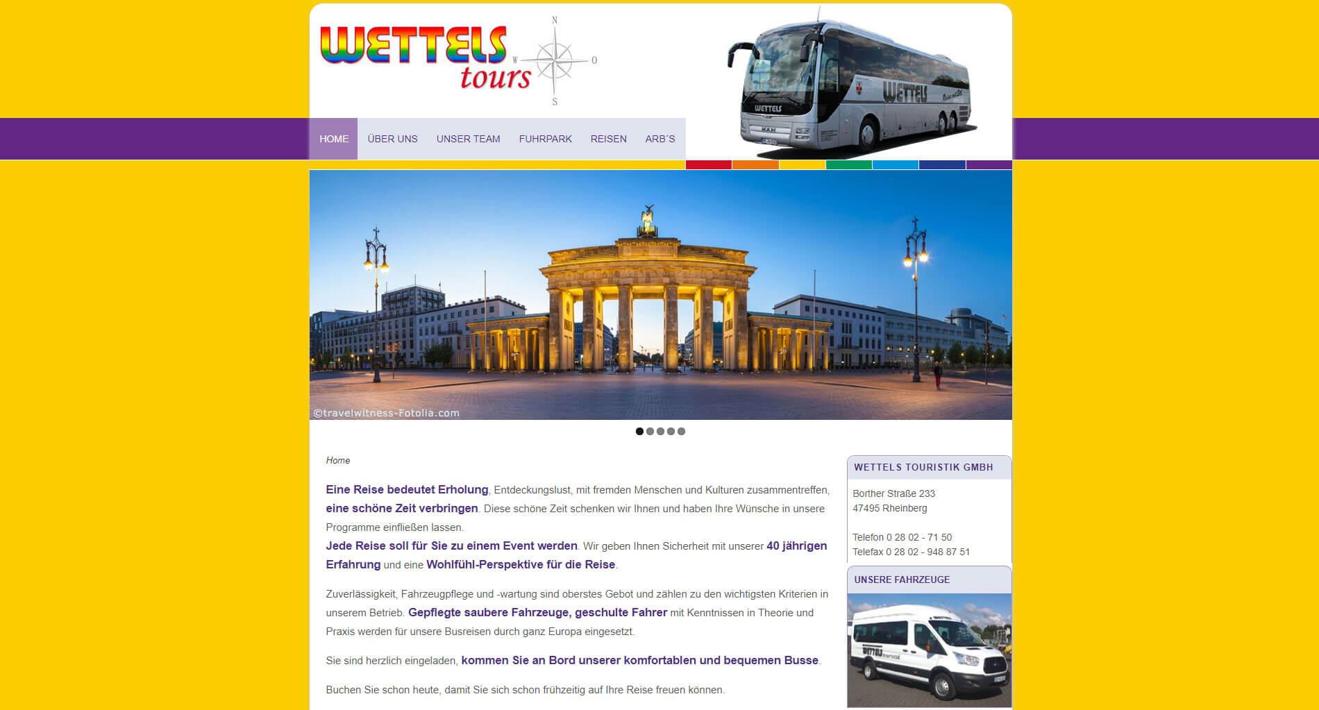 Wettels-Busreisen